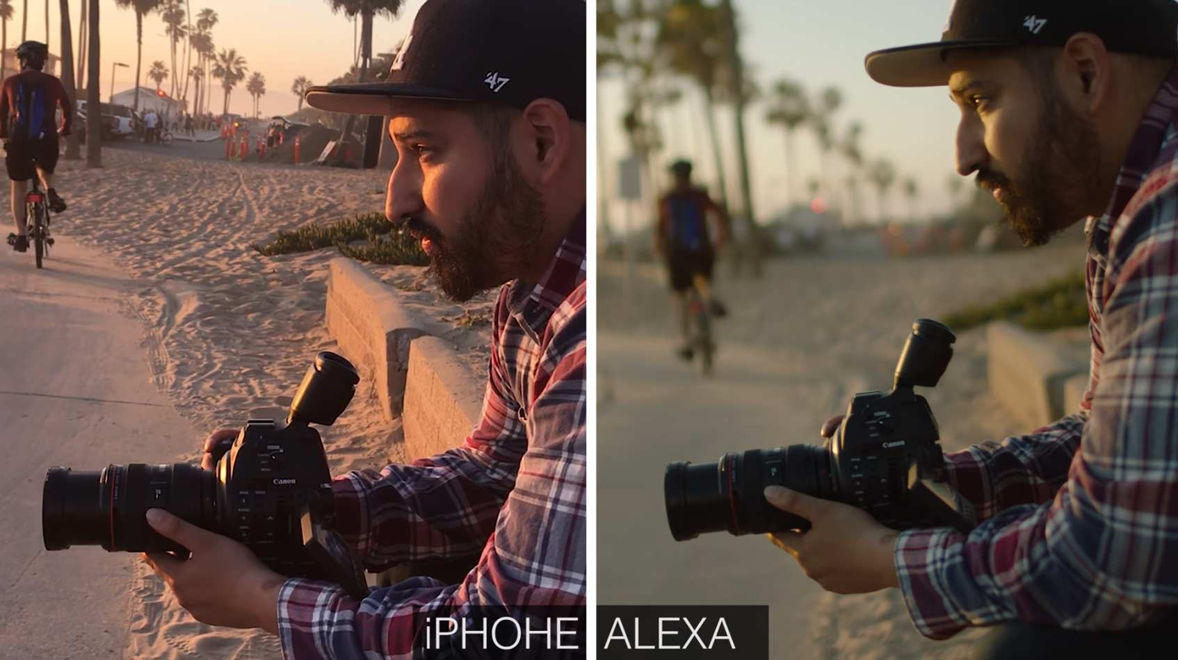 iPhone 7 vs. Hollywood-Filmkamera