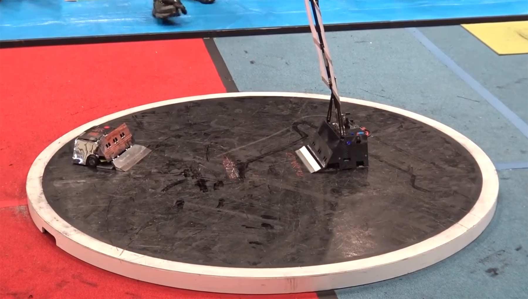Japanische Sumo-Roboter