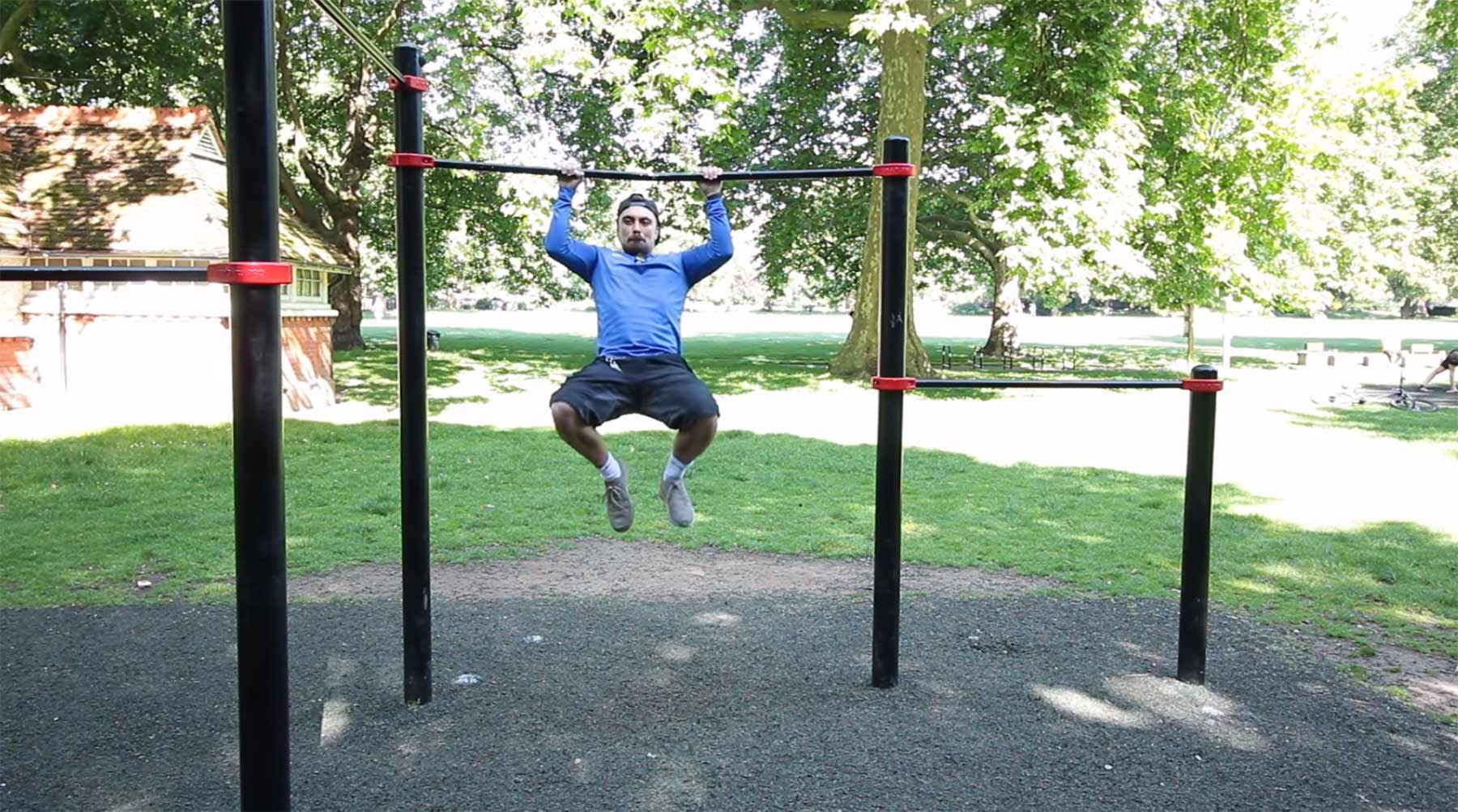 Mike Boyd lernt Muscle Ups