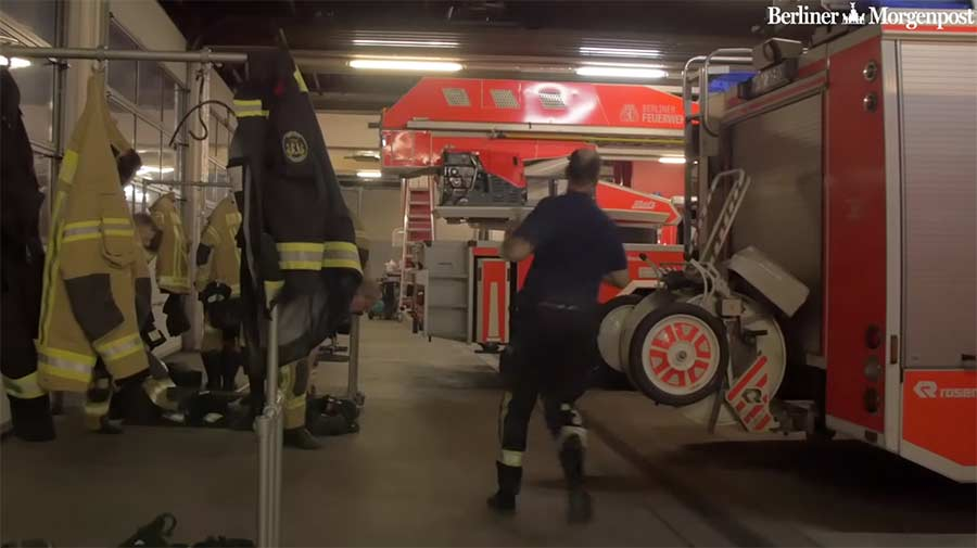 Mit der Berliner Feuerwehr auf Nachtschicht