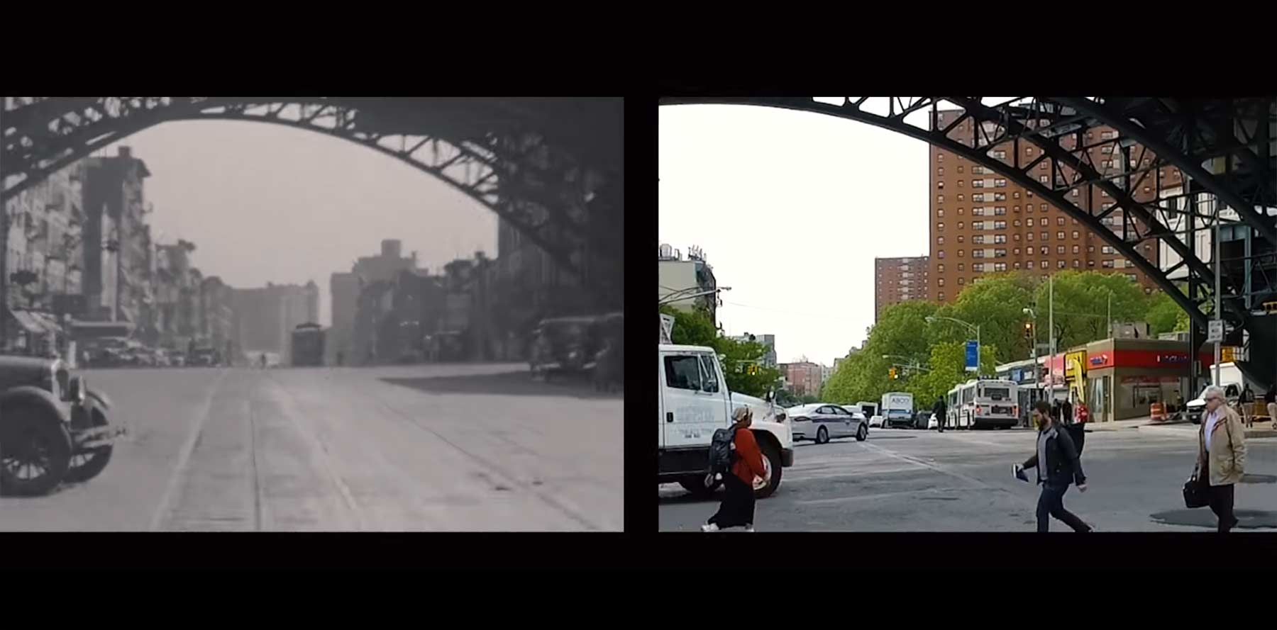 New York City: 1930 vs. Heute