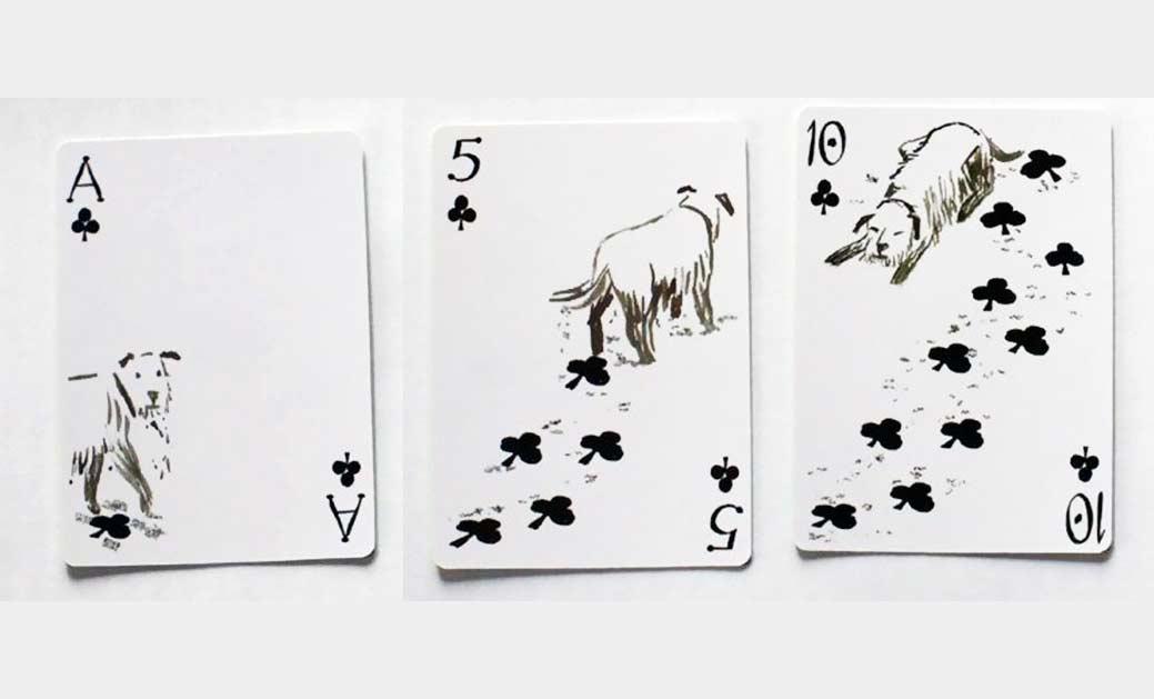Dieses Kartenspiel ist auf den Hund gekommen