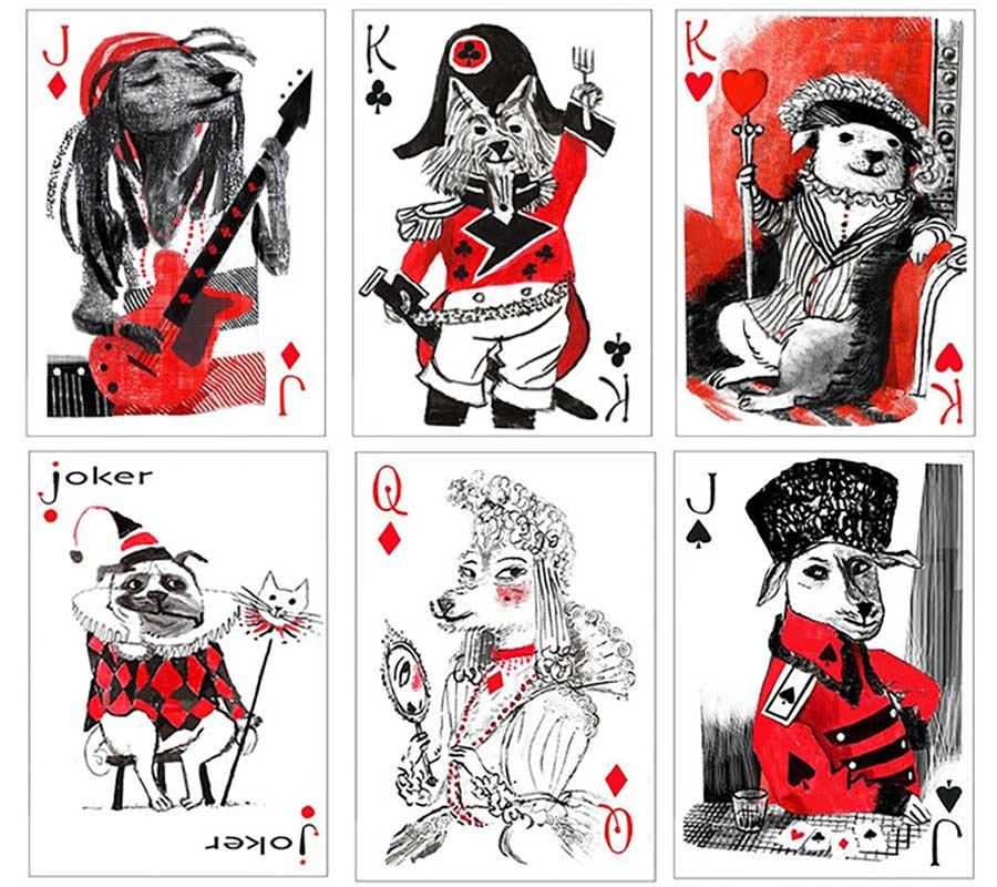 Dieses Kartenspiel ist auf den Hund gekommen pack-of-dogs-playing-cards_04