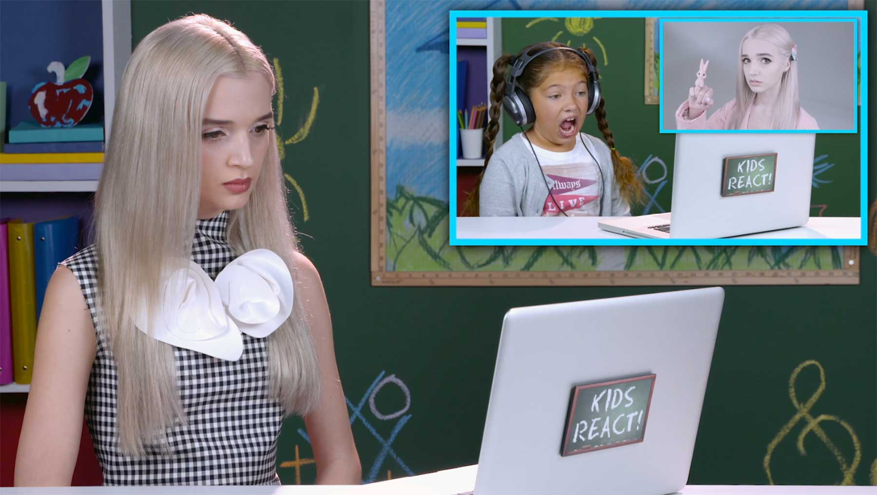 Poppy reagiert auf ihr Reaktionsvideo
