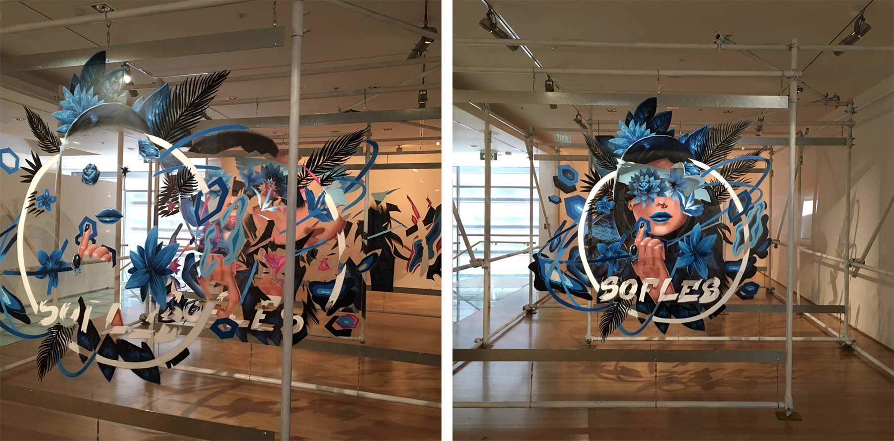 Graffitis auf mehreren Glasebenen sofles-multi-layer-artworks_01