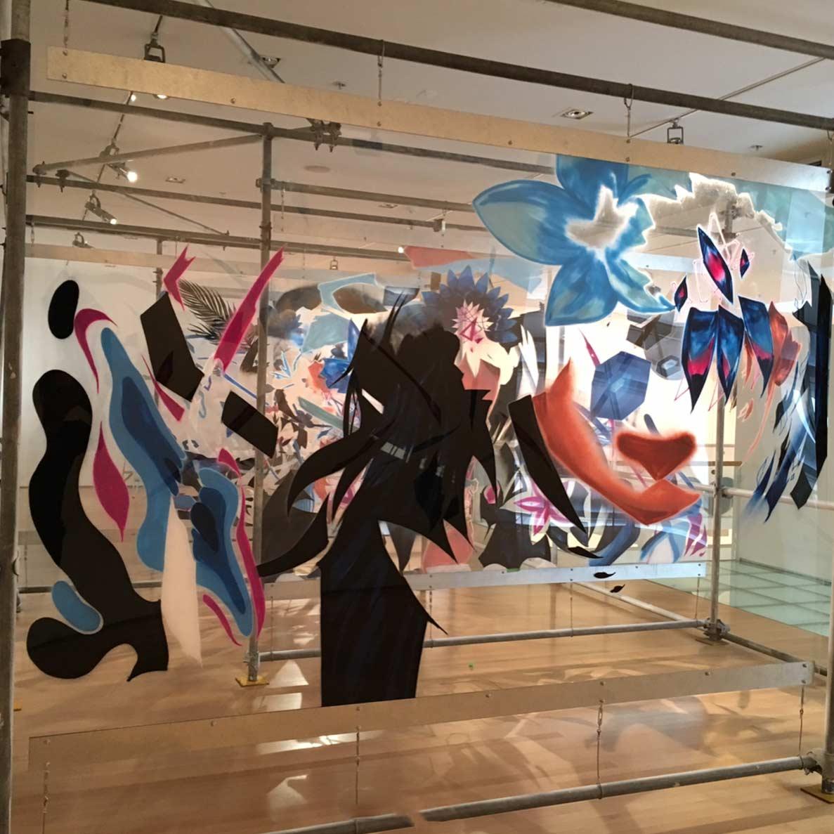 Graffitis auf mehreren Glasebenen sofles-multi-layer-artworks_03