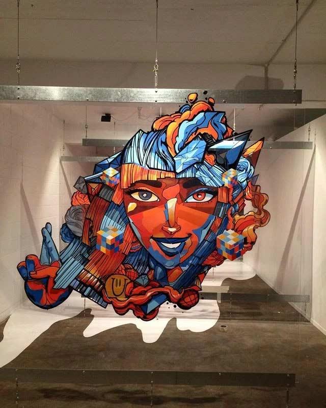 Graffitis auf mehreren Glasebenen sofles-multi-layer-artworks_06