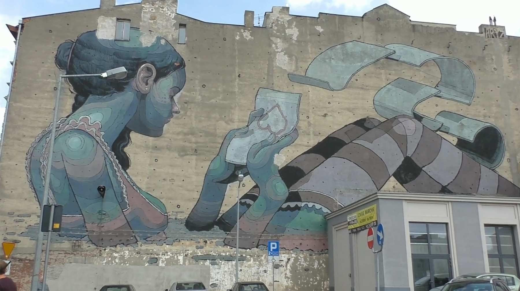 The Murals of Łódź