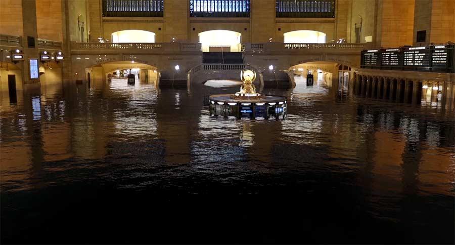 New York City unter Wasser