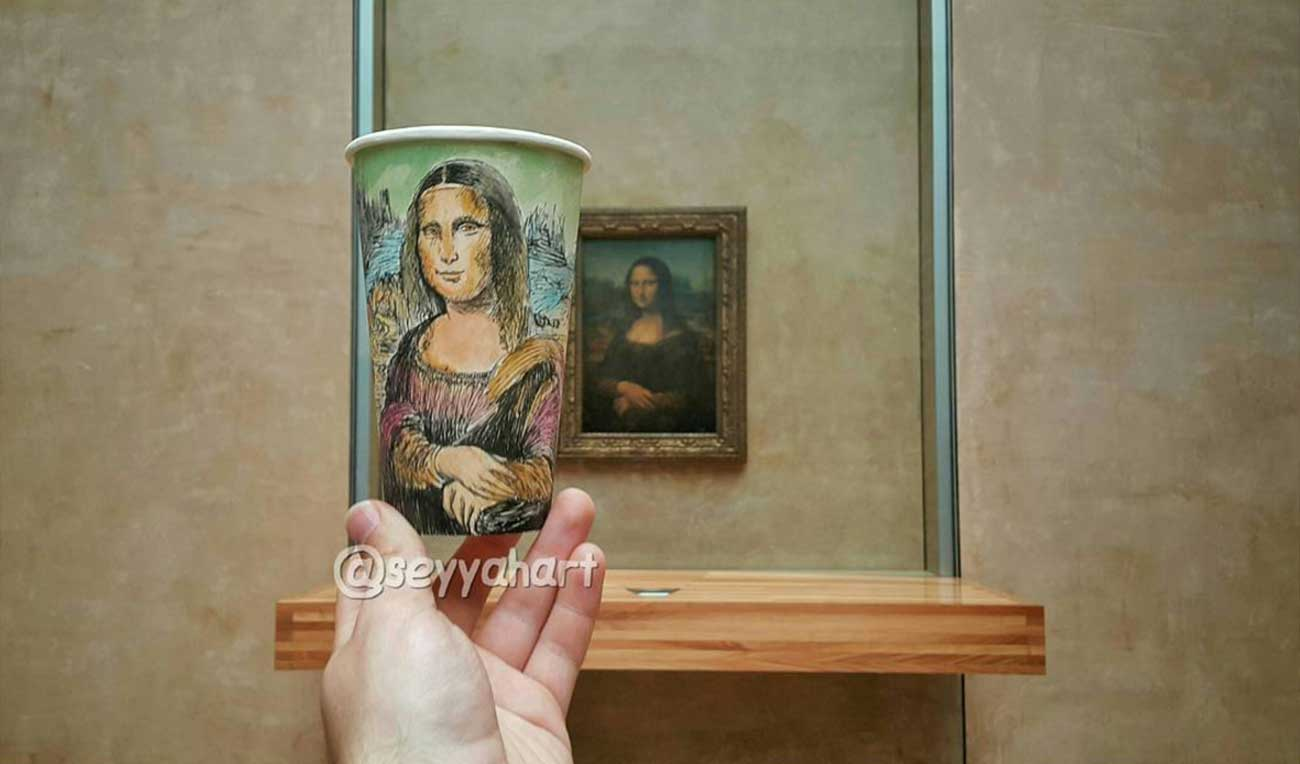 Reise-Erinnerungen auf Kaffeebechern festgehalten Berk-Armagan-becherreisen_06