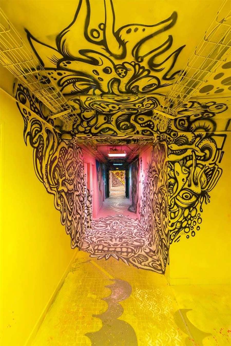 100 Graffiti-Künstler haben dieses Studentenwohnheim verschönert Cite-Internationale-Universitaire-Paris-Rehab2_08