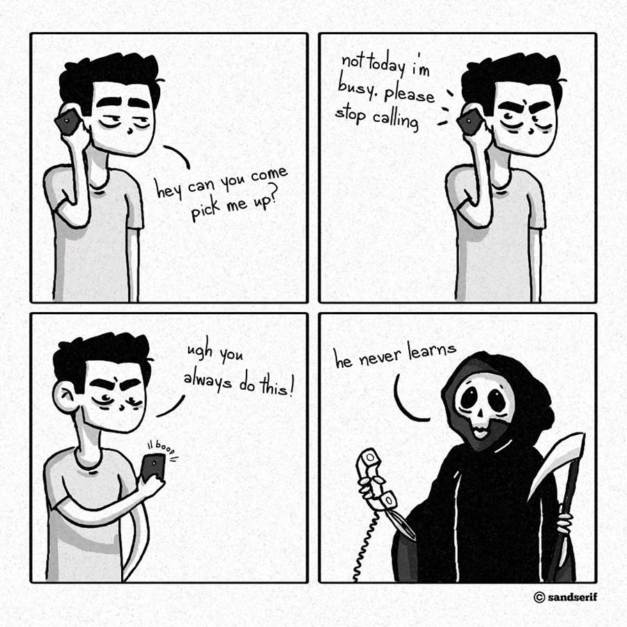 Webcomics über das Leben, den Tod und die Melancholie SandSerif-webcomics_05