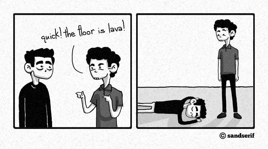 Webcomics über das Leben, den Tod und die Melancholie SandSerif-webcomics_07