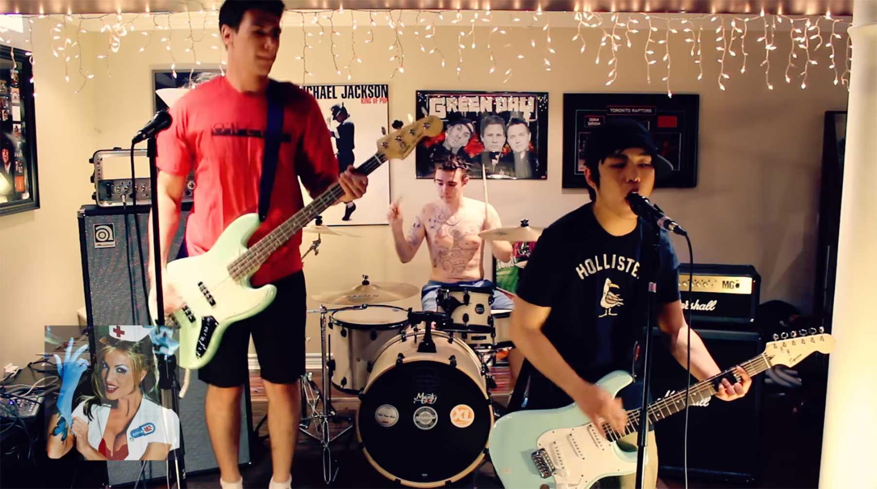 Komplette Blink 182-Diskografie in 12 Minuten blink-182-medley