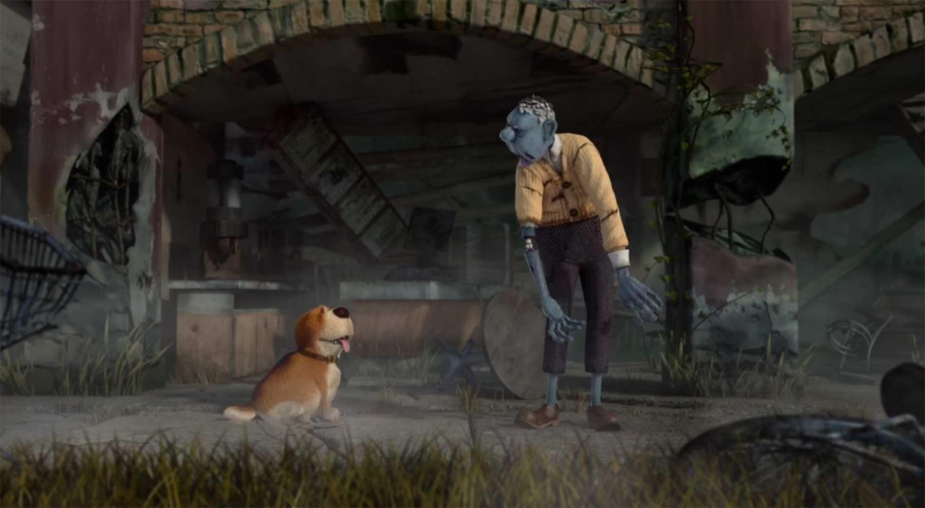 Der Zombie und sein Hund