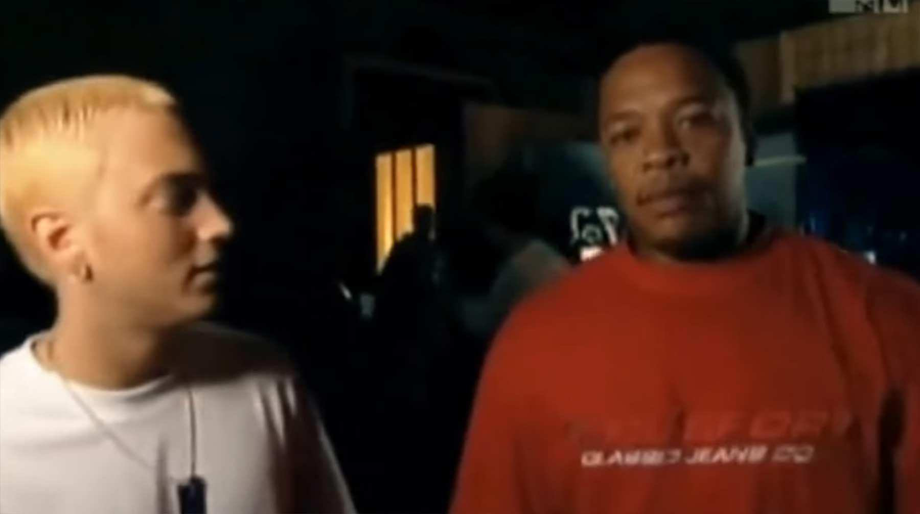 Wie Eminem von Dr. Dre entdeckt wurde eminem-dr-dre-entdeckung