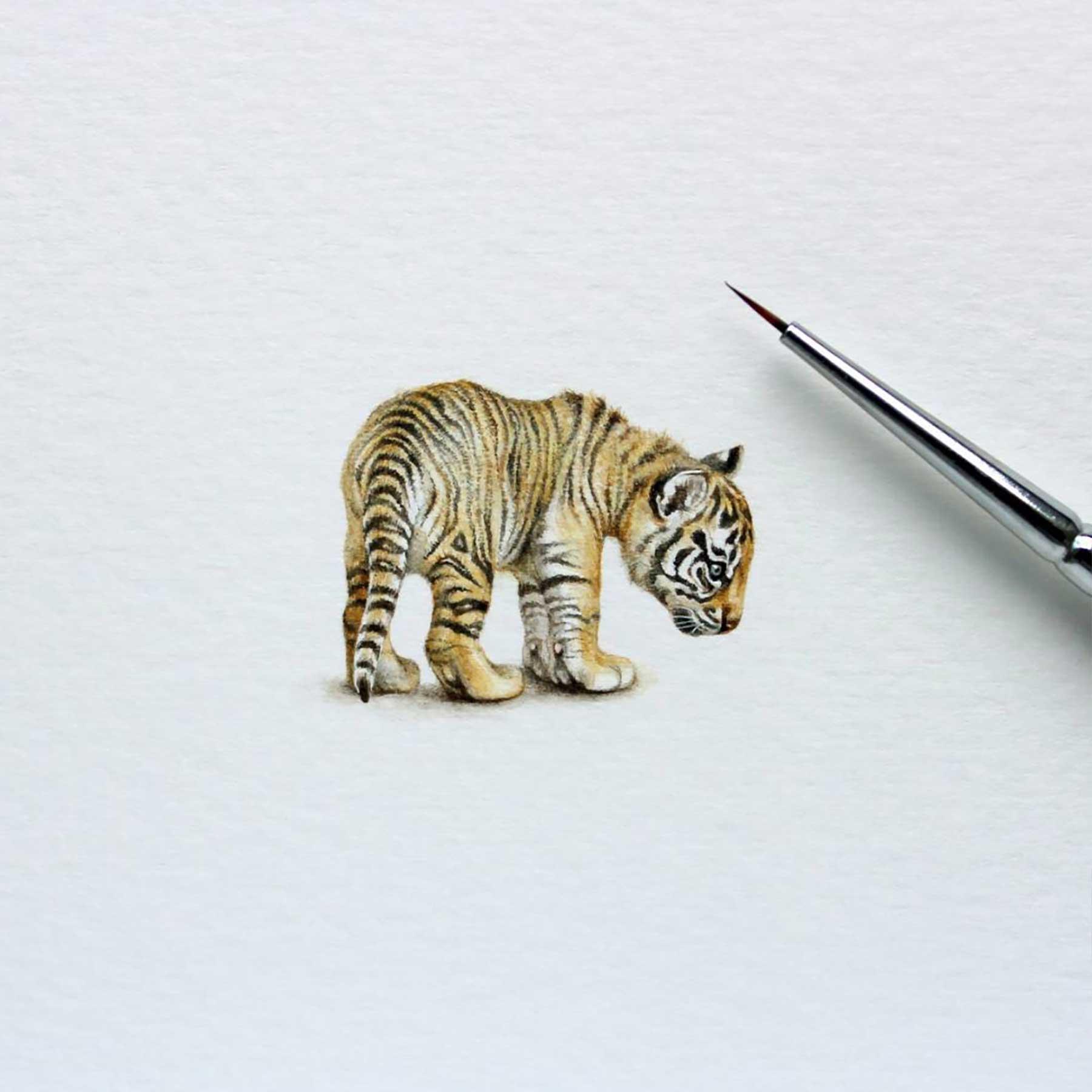 Miniatur-Wasserfarb-Tiere julia-las-wasserfarbe-tierportraits_06