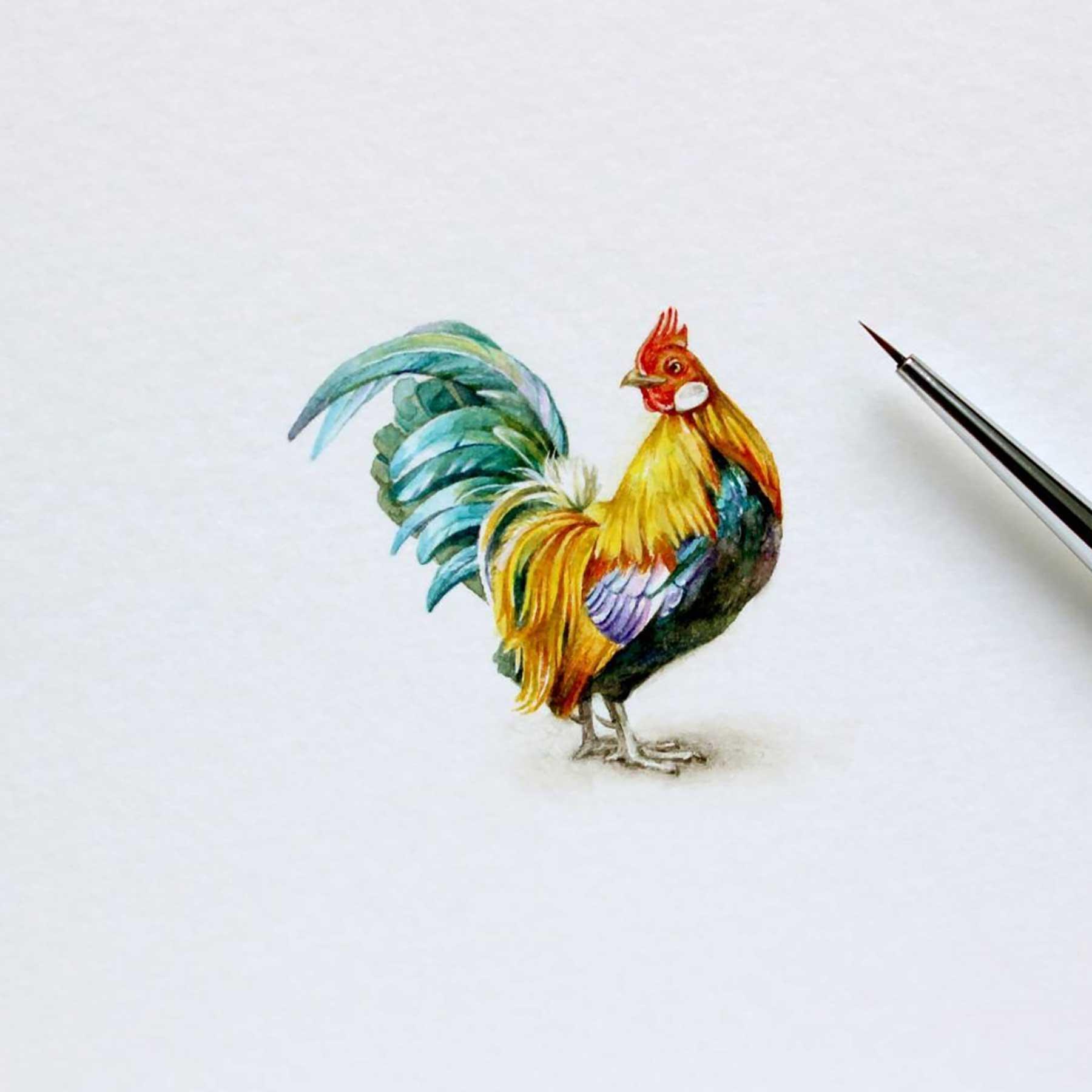 Miniatur-Wasserfarb-Tiere julia-las-wasserfarbe-tierportraits_09