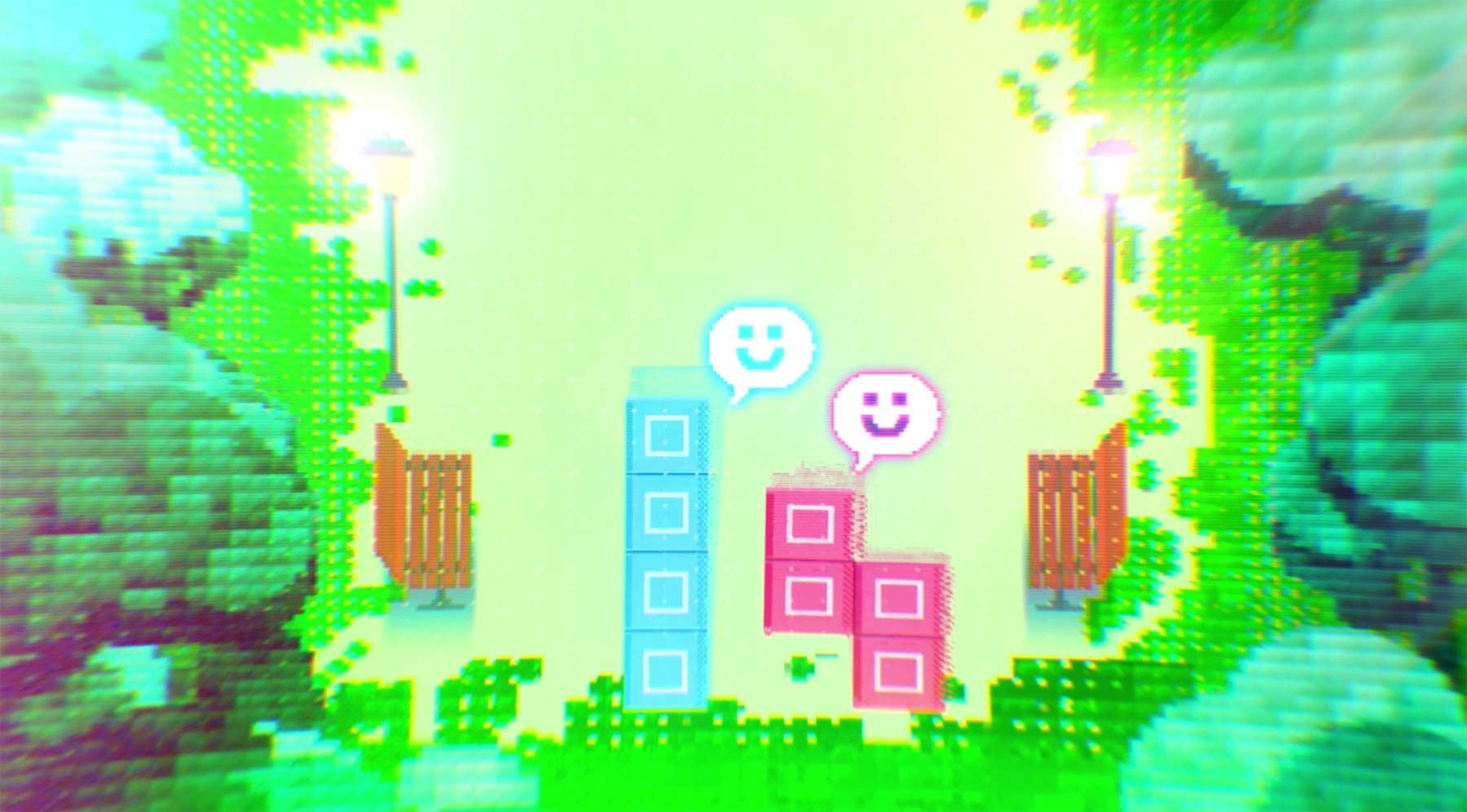 Die Liebesgeschichte zweier Tetris-Blöcke