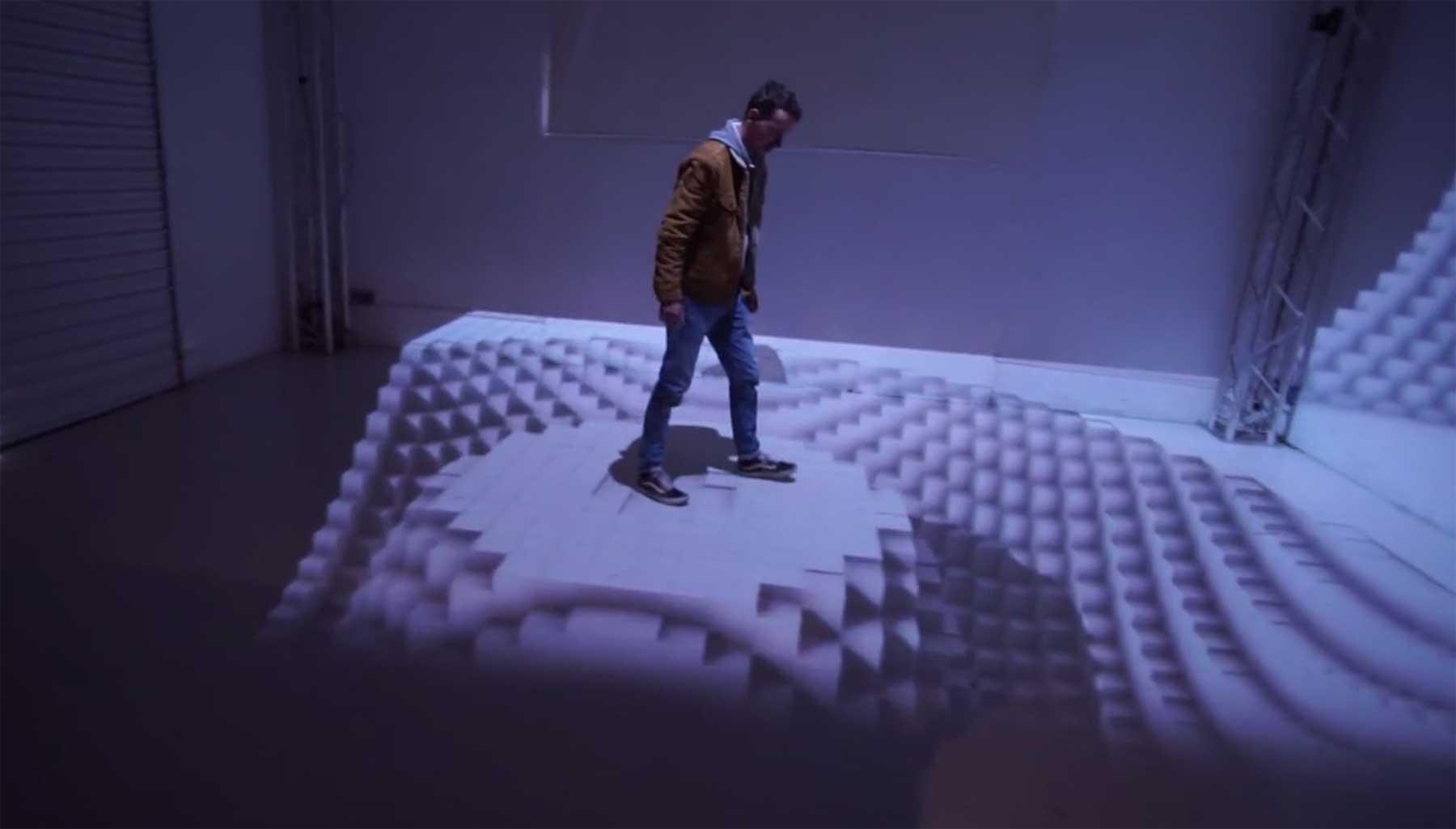 Dieser verrückte Raum reagiert auf deine Bewegungen