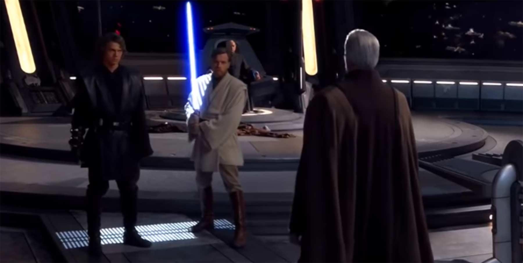 """Star Wars, aber die Lichtschwerter sind Owen Wilson, der """"WOW"""" sagt star-wow"""