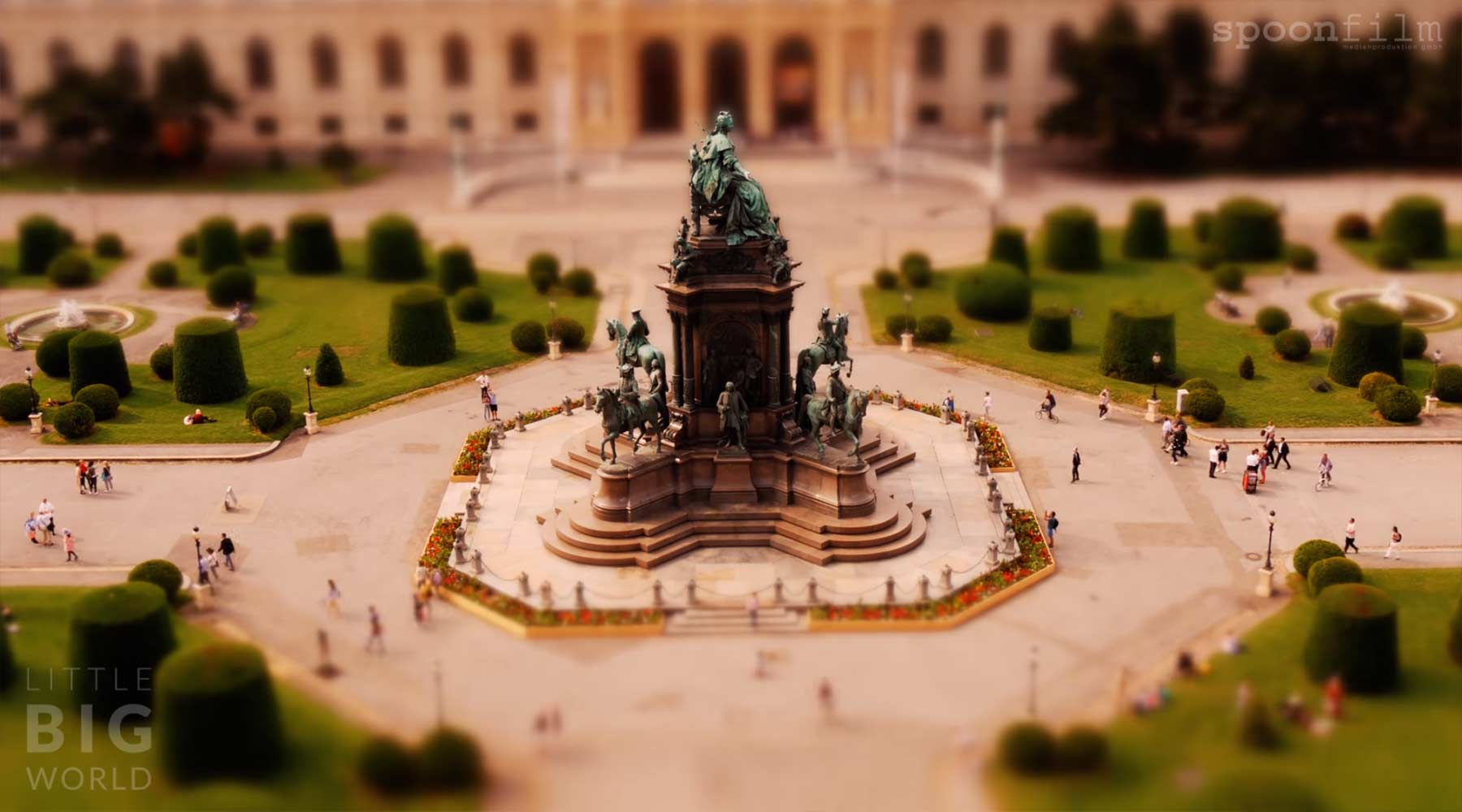Tilt-Shift: Vibrant Vienna