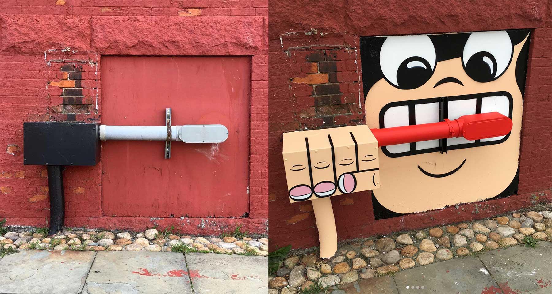 Street Art: Tom Bob