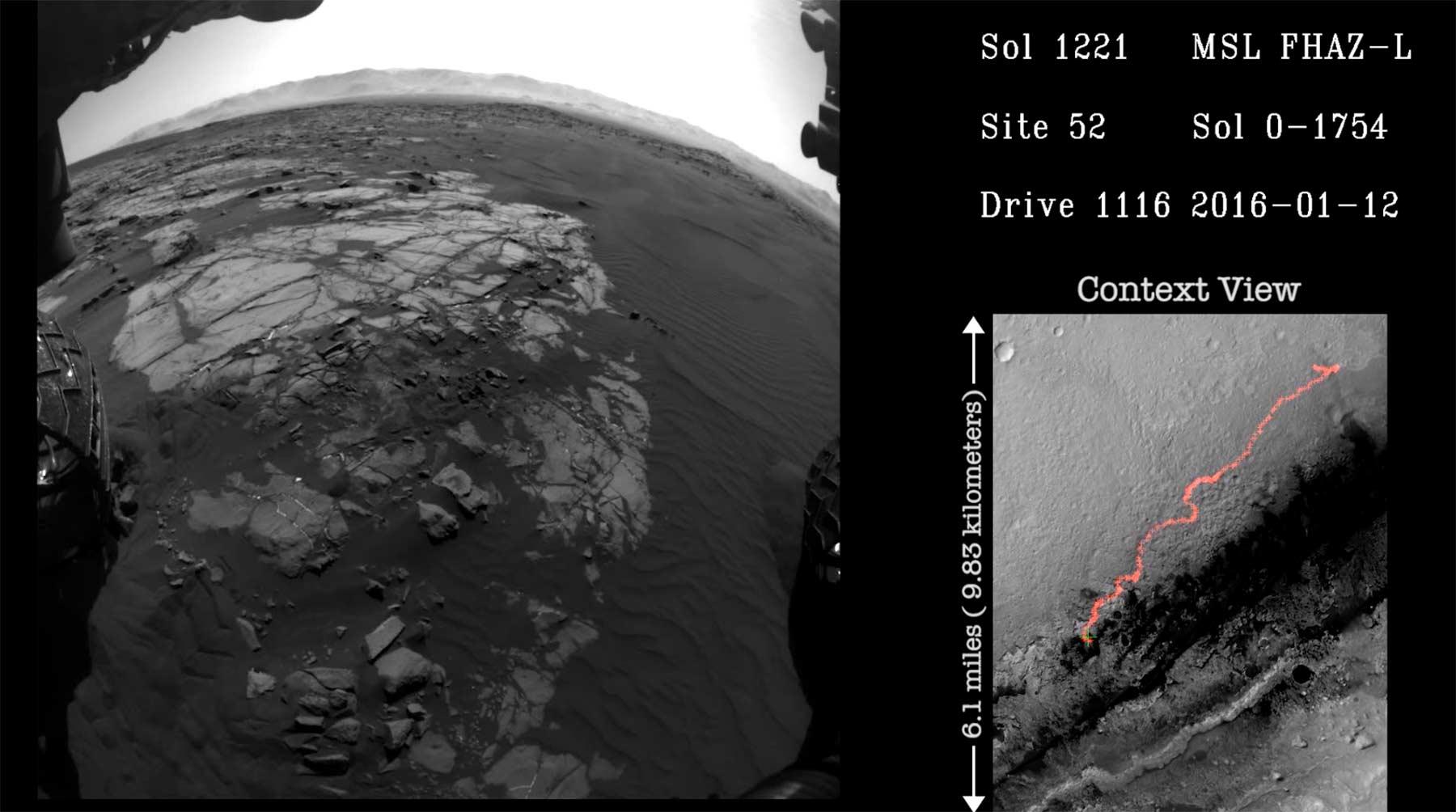 Das hat Curiosity die fünf Jahre über auf dem Mars gesehen