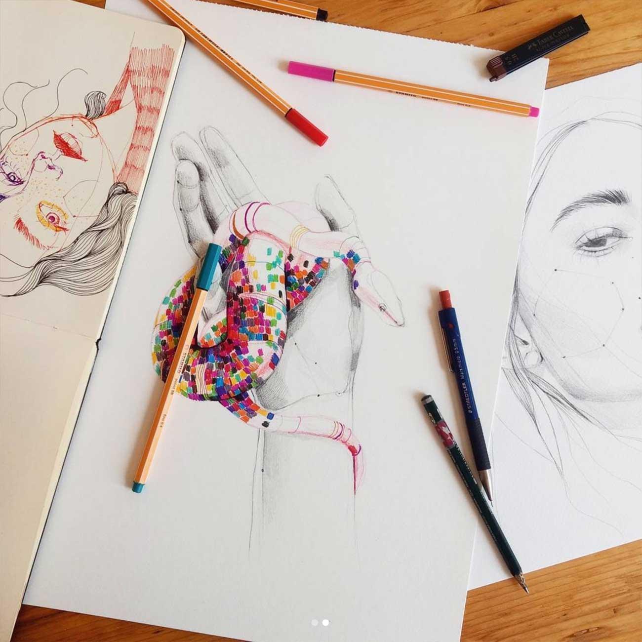 Zeichnungen: Ana Santos Ana-Santos_09
