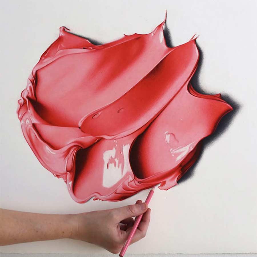 Ultrarealistisch Gezeichnete Farbkleckse CJ-Hendry-complementary-colors_02