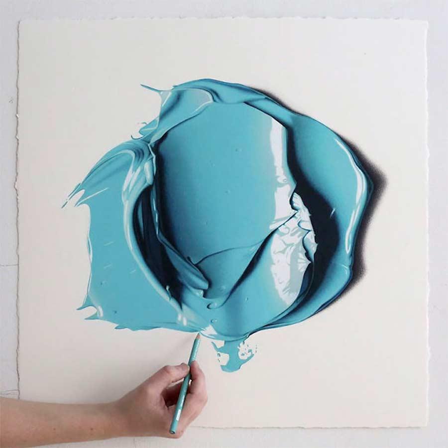Ultrarealistisch Gezeichnete Farbkleckse CJ-Hendry-complementary-colors_03