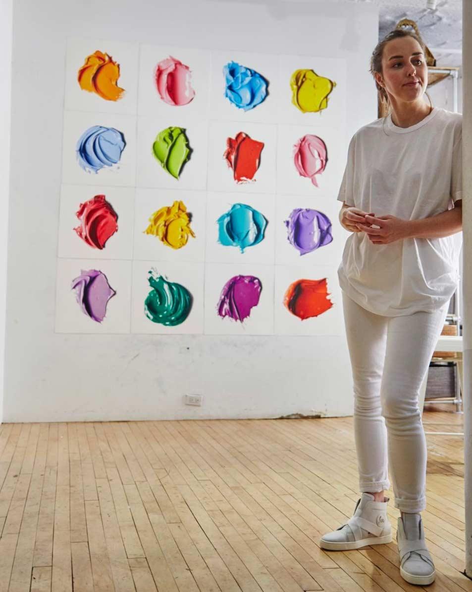 Ultrarealistisch Gezeichnete Farbkleckse CJ-Hendry-complementary-colors_09