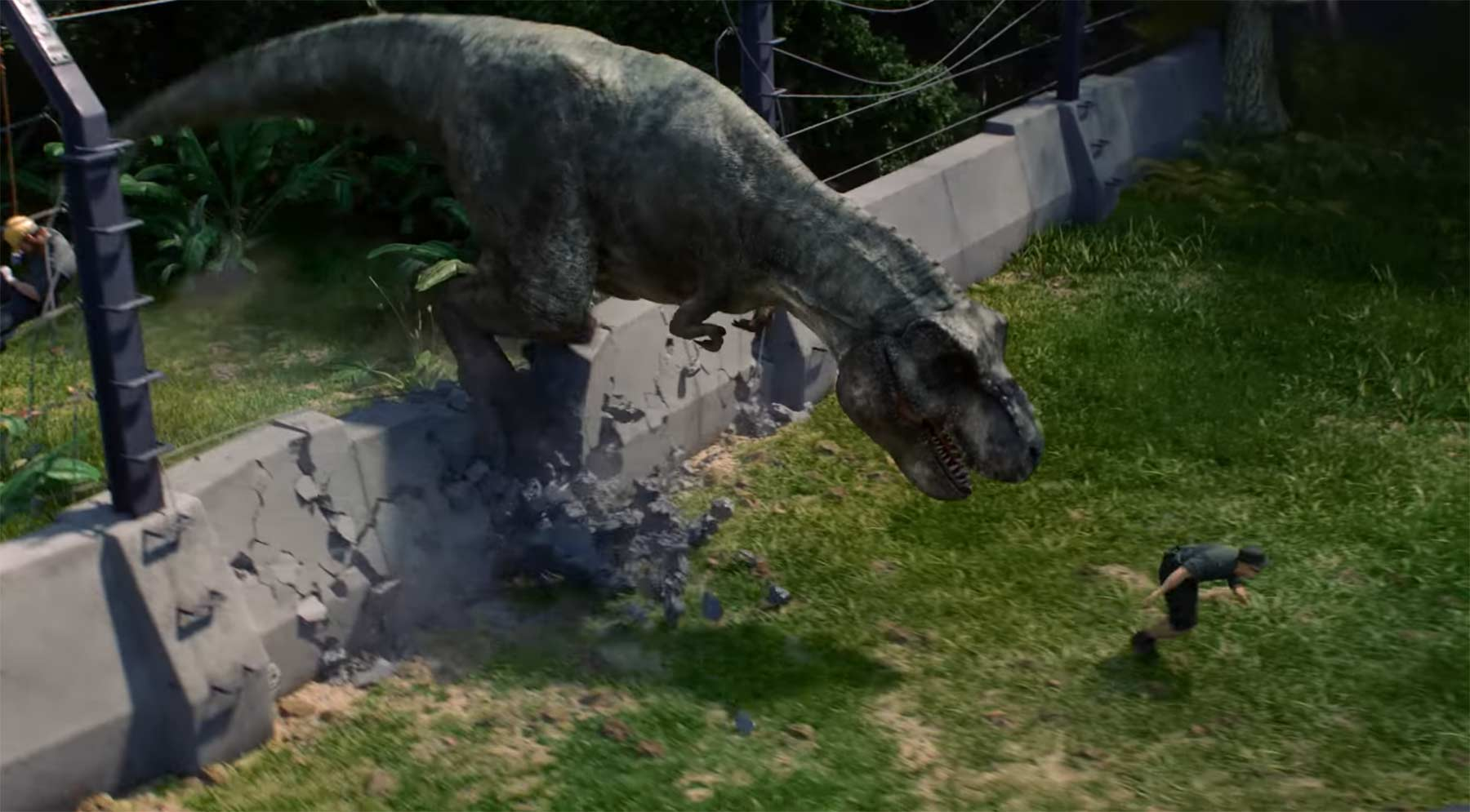"In ""Jurassic World Evolution"" kann man seinen eigenen Dinopark bauen Jurassic-World-Evolution"