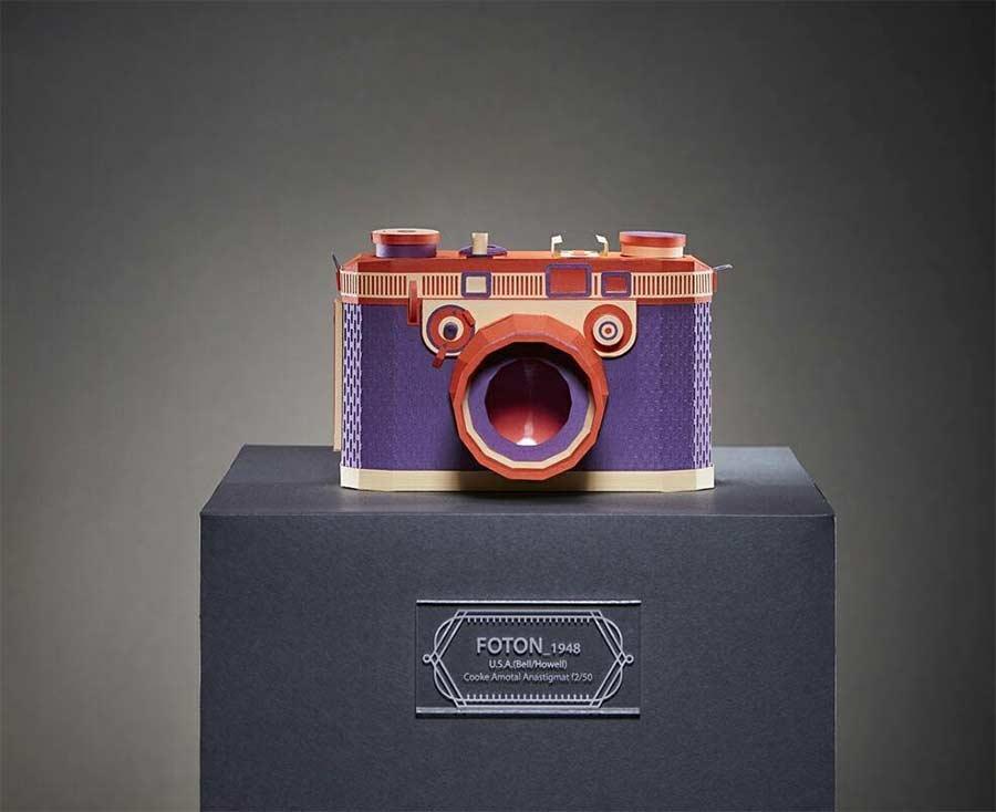Retro-Kameras aus Papier Lee-Ji-Hee_01