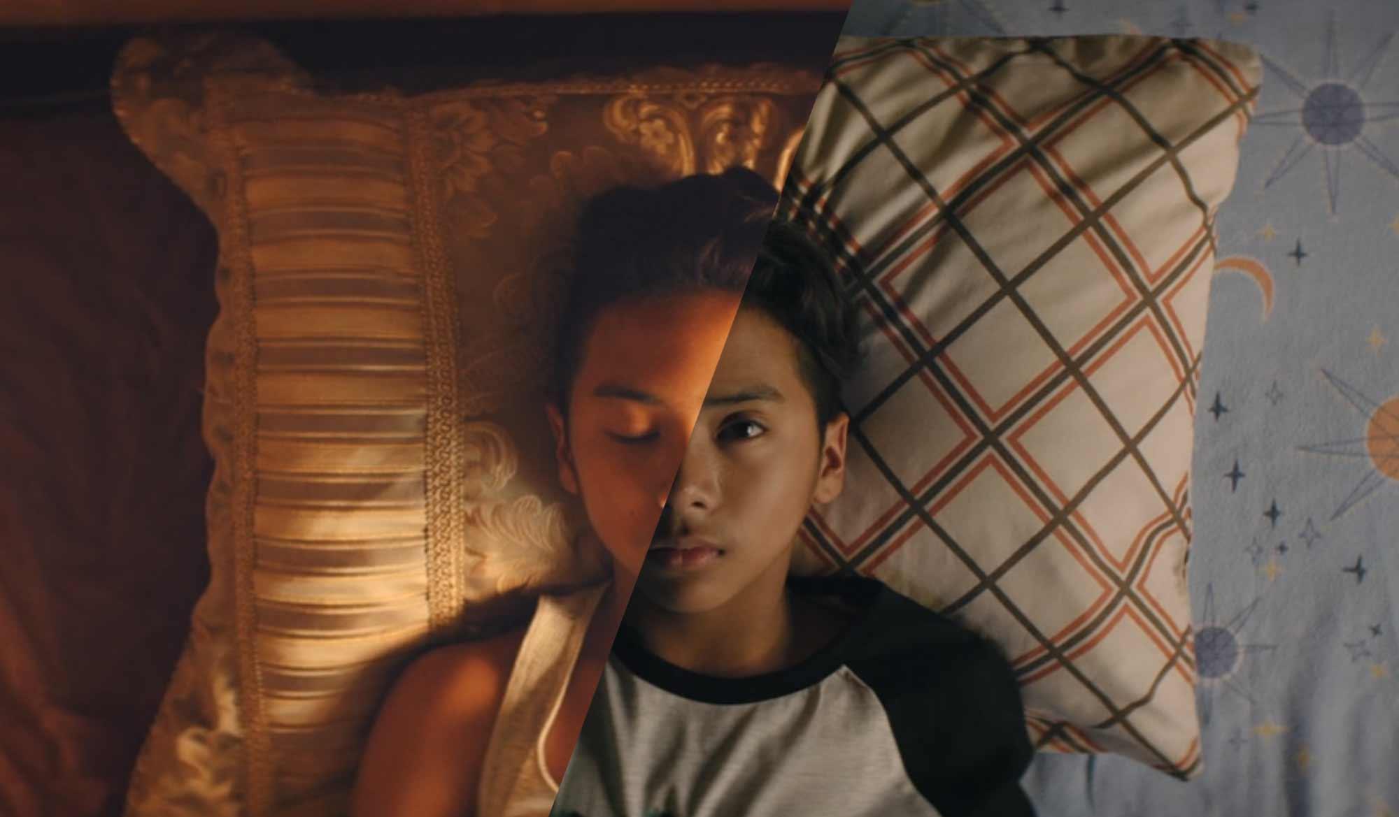 Im interaktiven Musikvideo zwischen Traum und Realität switchen