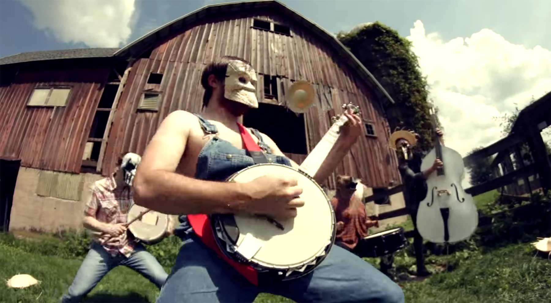 Banjo-Cover von Slipknots Psychosocial