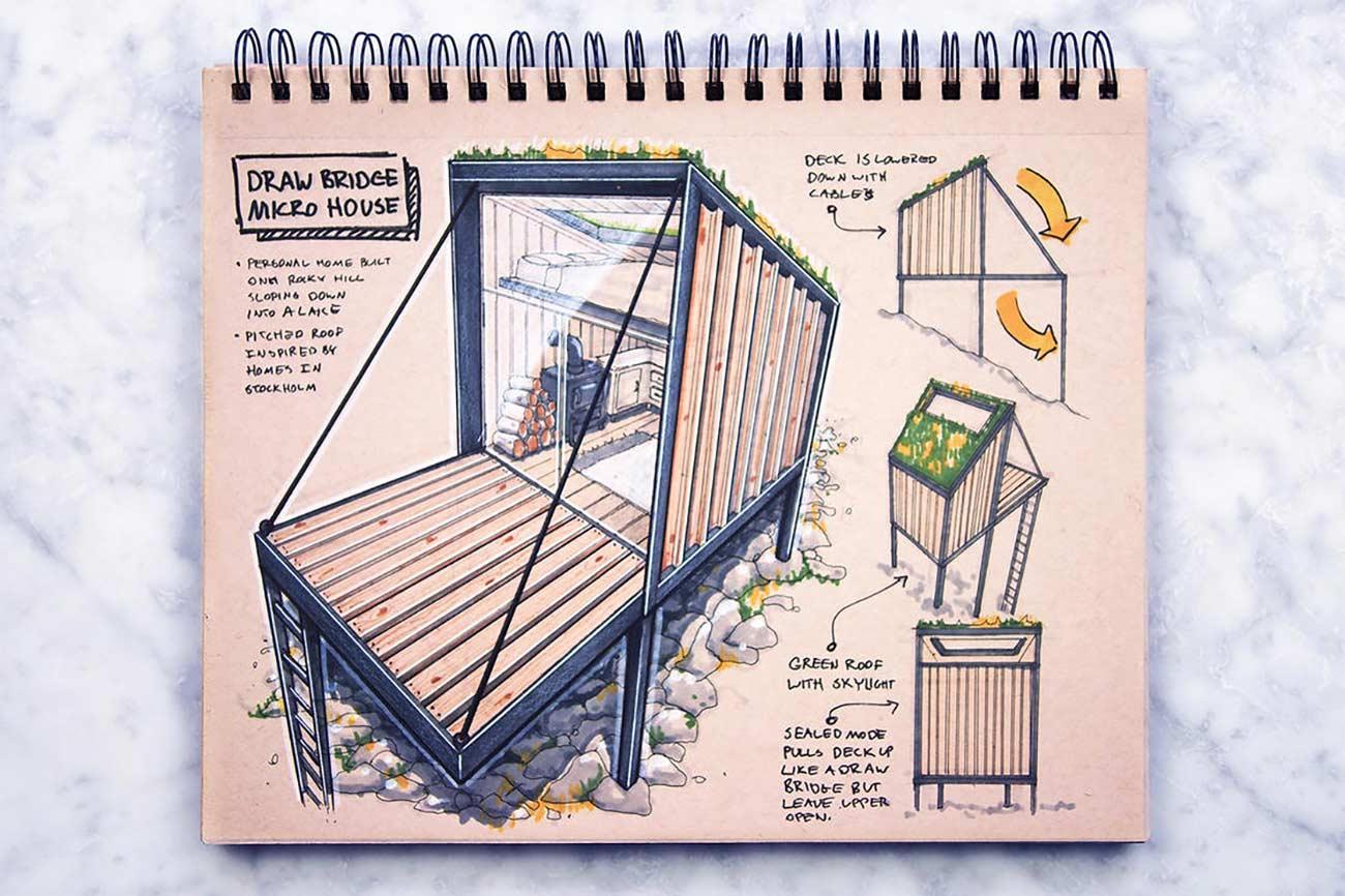 Blick in das Skizzenbuch eines Architekten Reid-Schlegel_03