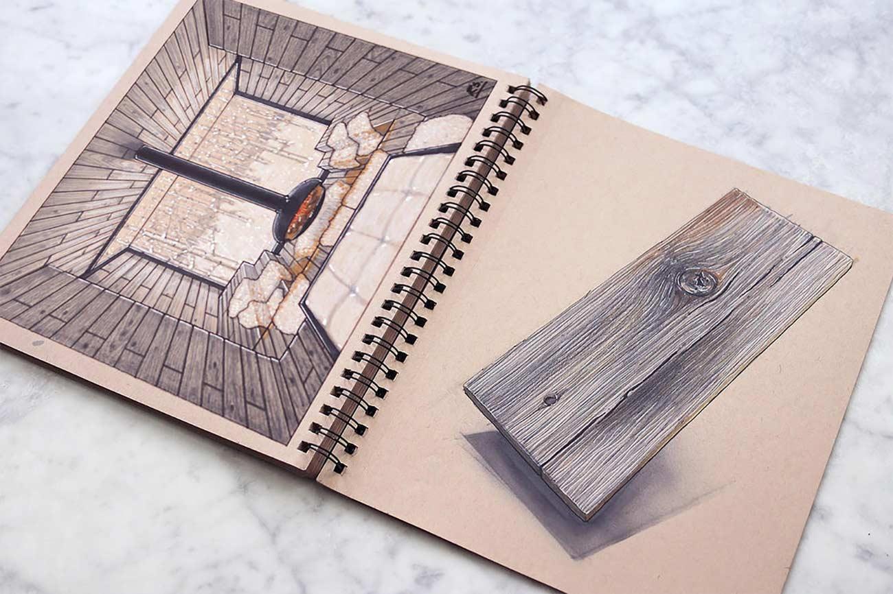 Blick in das Skizzenbuch eines Architekten Reid-Schlegel_07