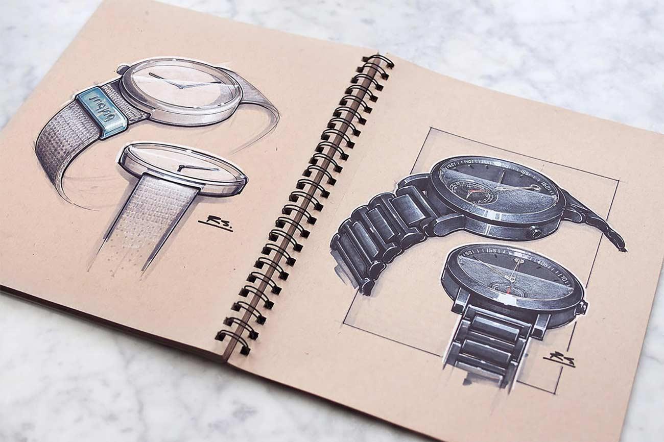 Blick in das Skizzenbuch eines Architekten Reid-Schlegel_11
