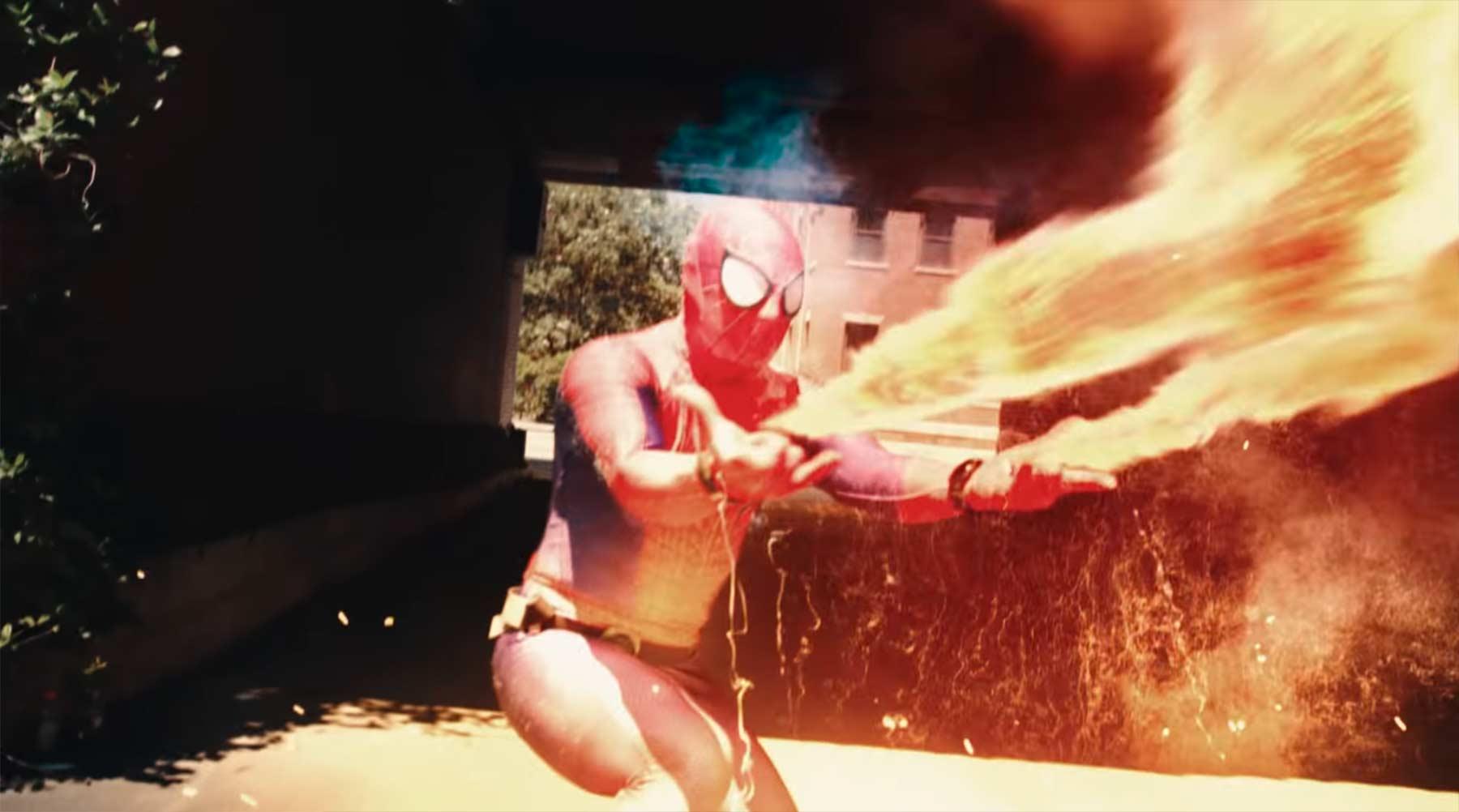 Spider-Mans aufgemodzte Spinnennetze