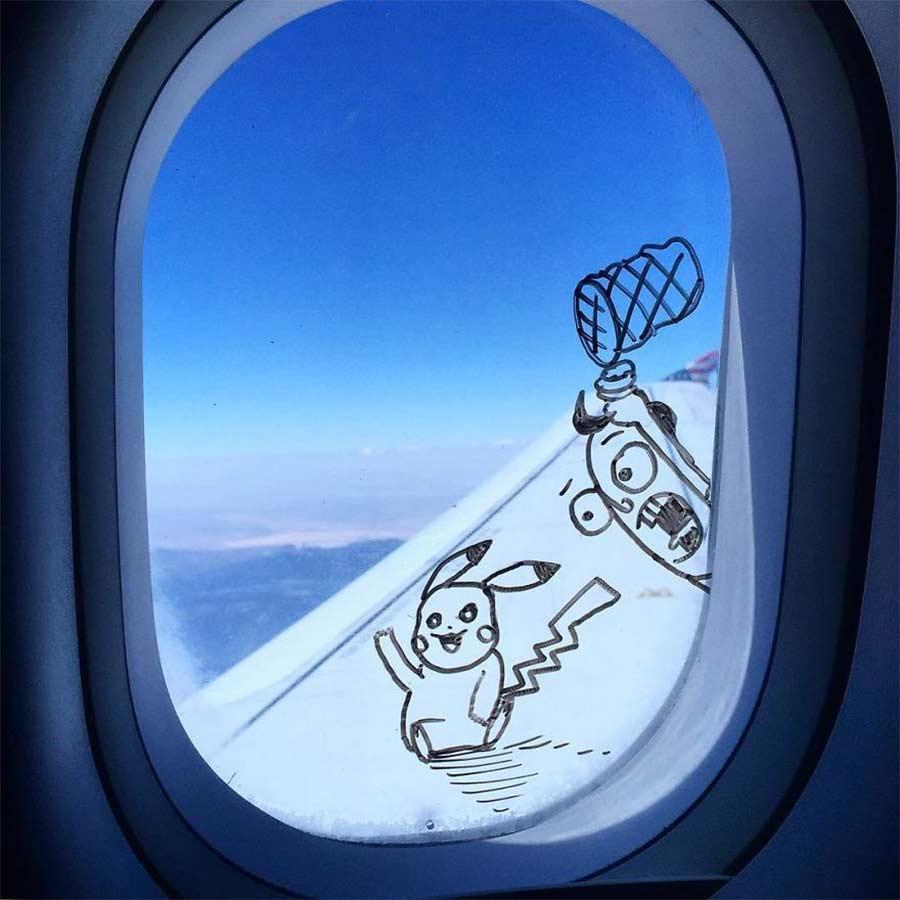 Fenstermalerei im Flugzeug Stephen-Palladino-fensterbilder_03