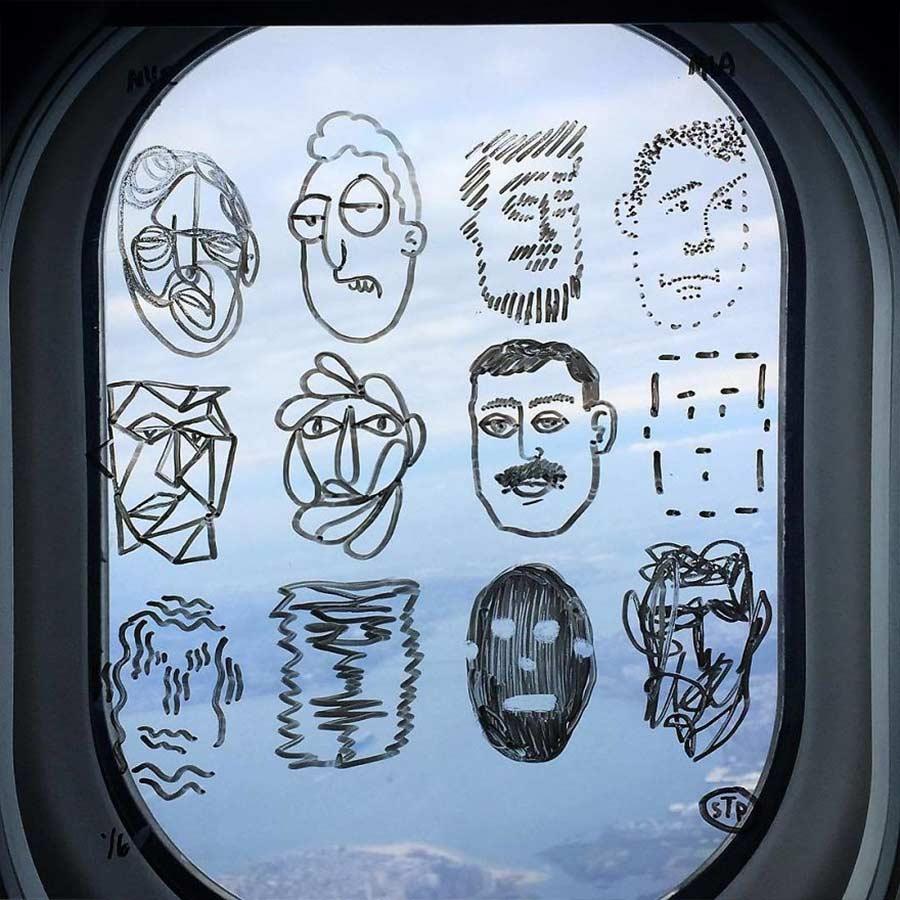 Fenstermalerei im Flugzeug Stephen-Palladino-fensterbilder_06