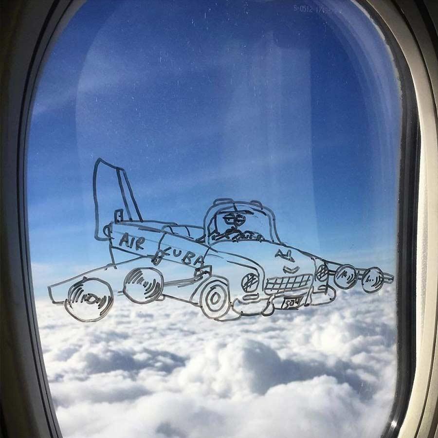 Fenstermalerei im Flugzeug Stephen-Palladino-fensterbilder_07