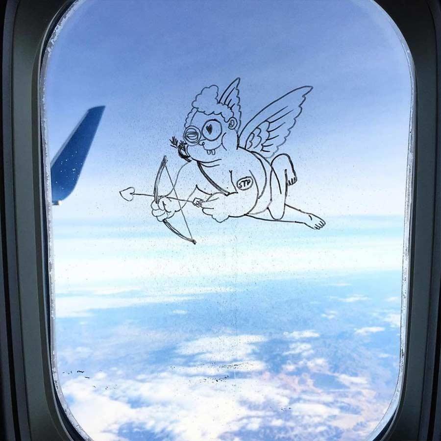 Fenstermalerei im Flugzeug Stephen-Palladino-fensterbilder_08