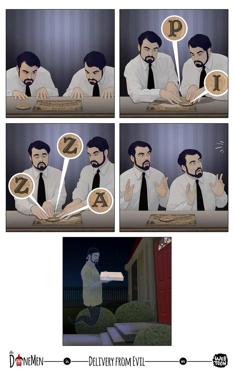 Sarkastische Webcomics von David Daneman The-Daneman_09