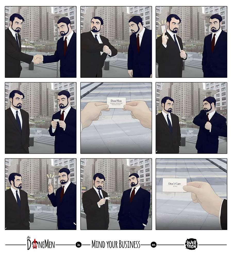 Sarkastische Webcomics von David Daneman The-Daneman_11