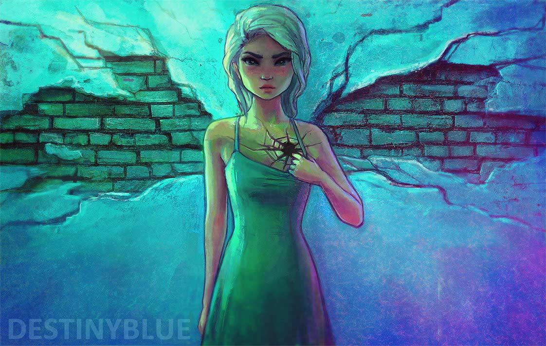 Illustrationen gegen die Depression destinyblue-illustration_02