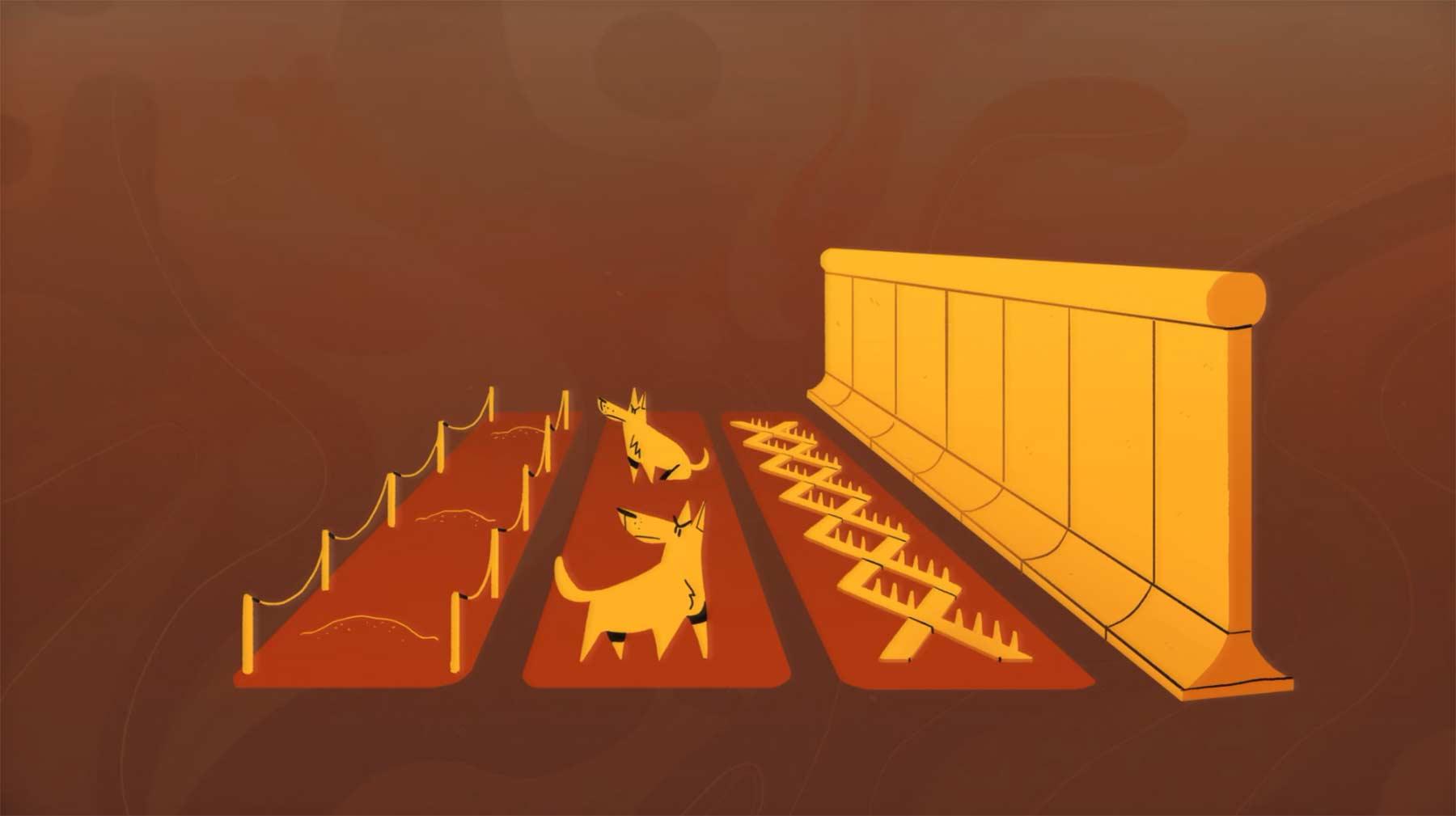 Bau und Fall der Berliner Mauer in 6 Minuten