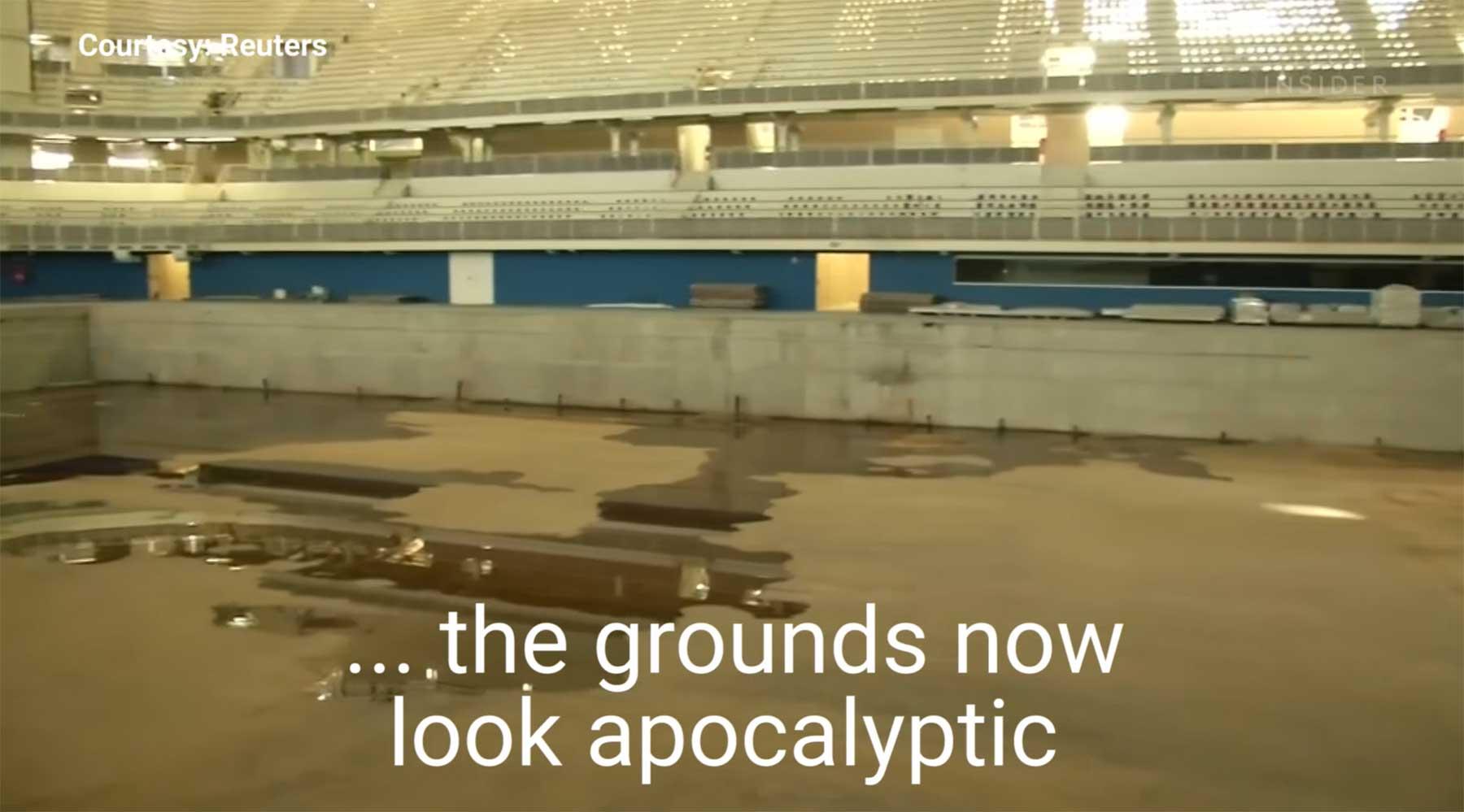 Brasiliens brachliegende Olympia-Sportstätten