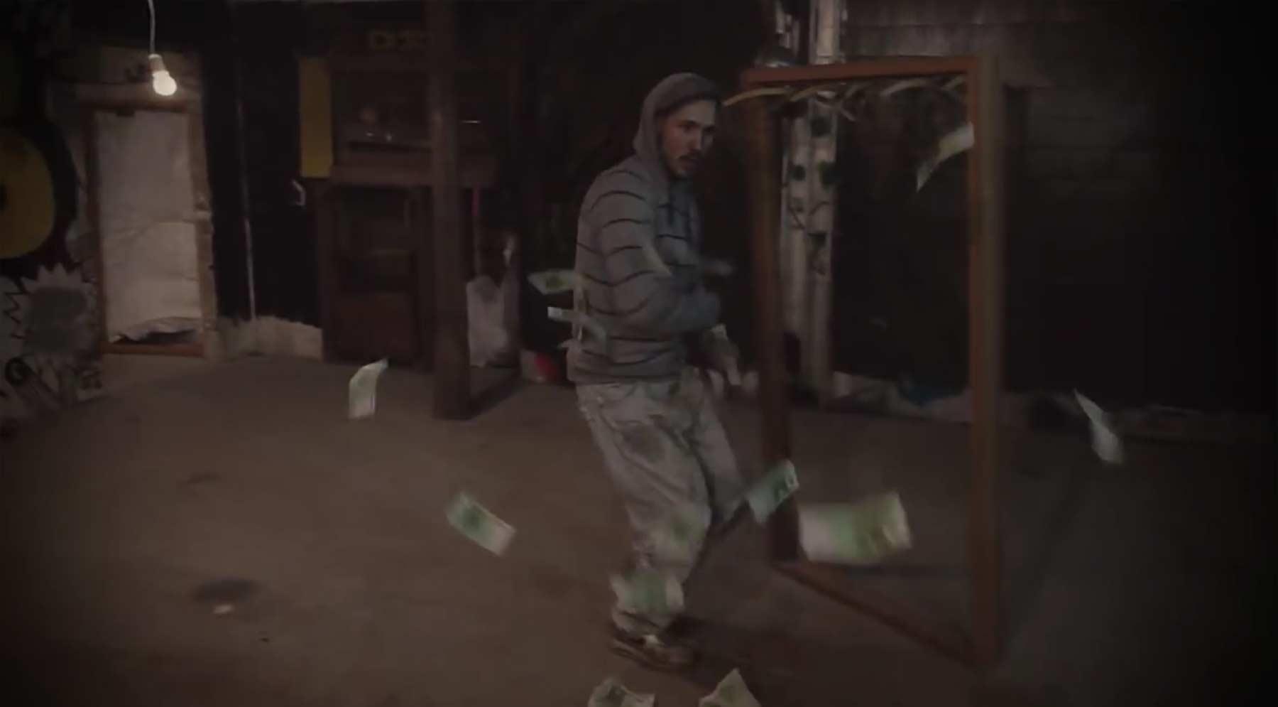 Rückwärts in einem Take gedrehtes Musikvideo pitvalid-pitrock